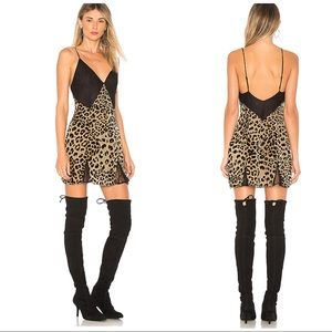 House of Harlow 1960 x Revolve Cheetah Print Dress